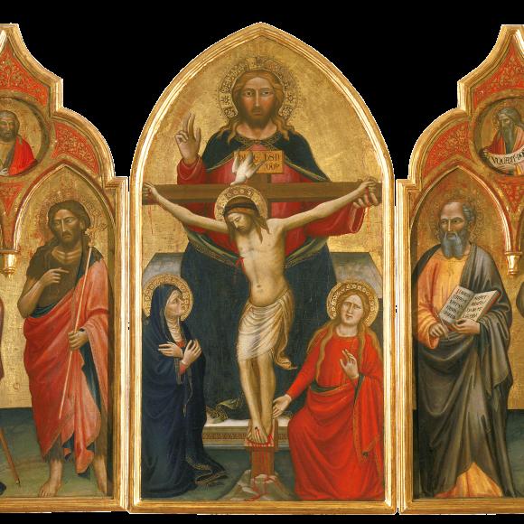 Trinità tra la Vergine e Maria Maddalena con Santi