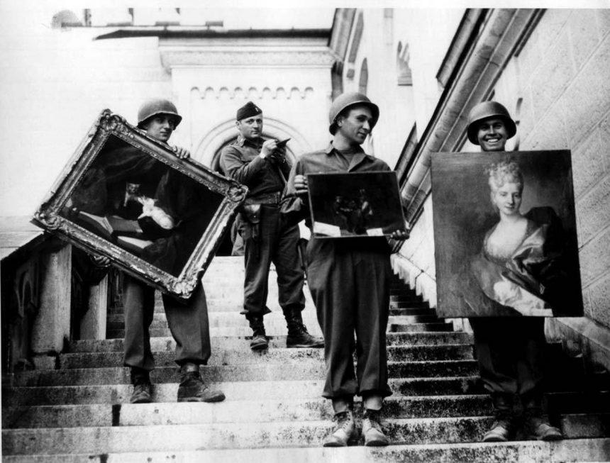 L'ARTE E IL NAZISMO: IL SALVATAGGIO DELL'ANNUNCIAZIONE DI BEATO ANGELICO DALLE RAZZIE DEI NAZISTI E L'AZIONE DELLO 007 DELL'ARTE RODOLFO SIVIERO