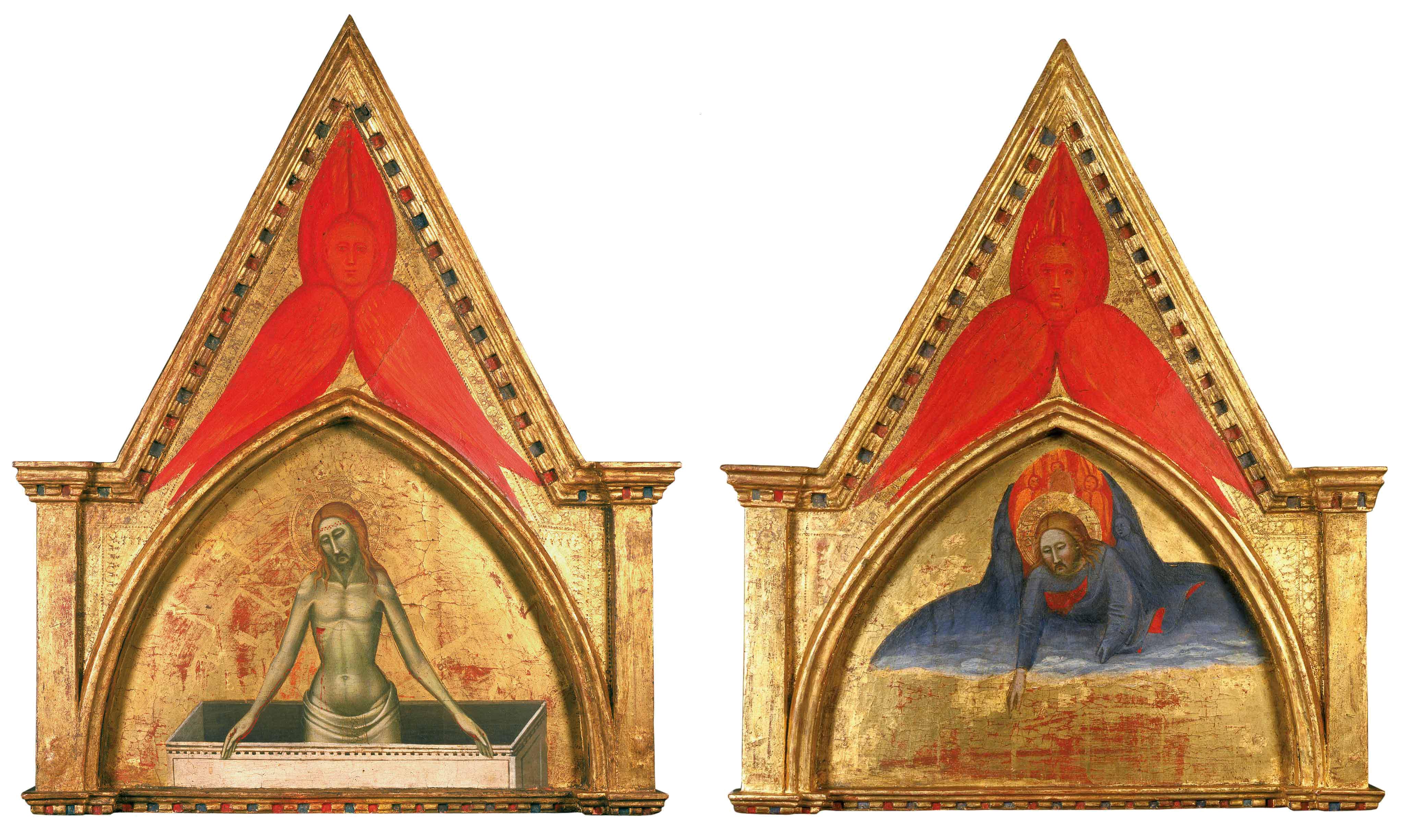 Dio benedicente, Cristo nel sepolcro