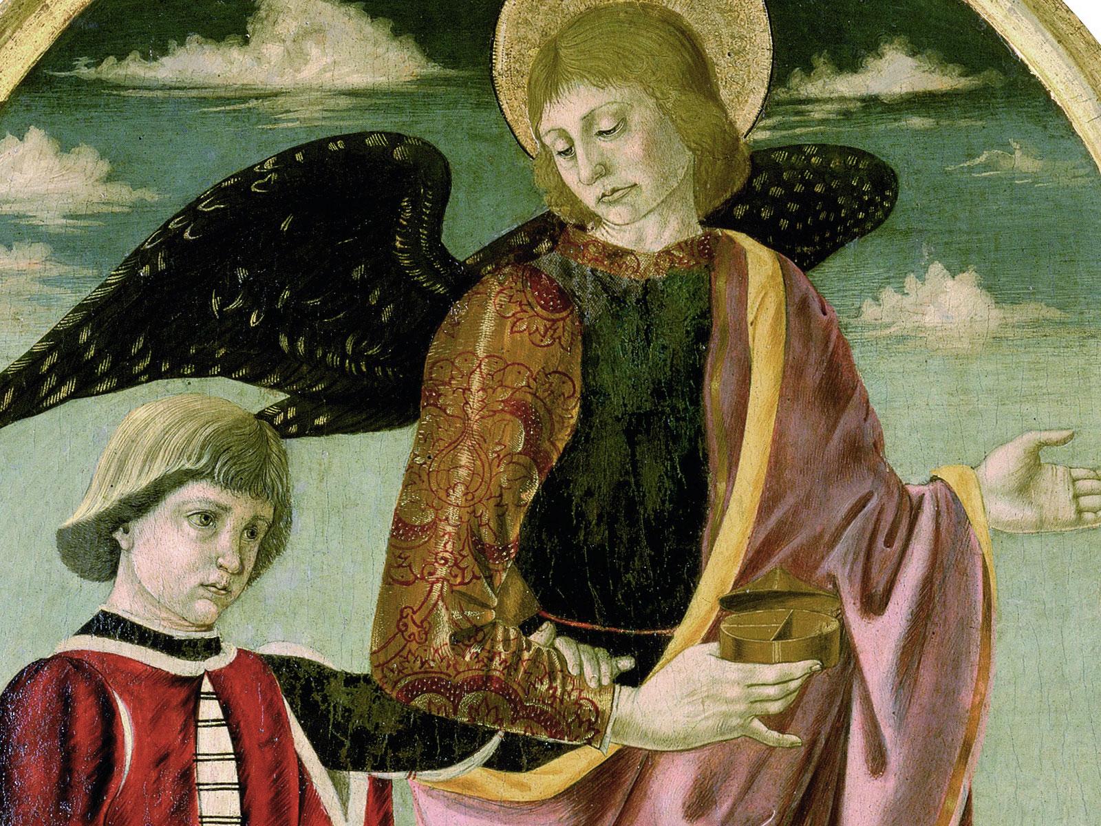 L'arcangelo Raffaele e Tobia