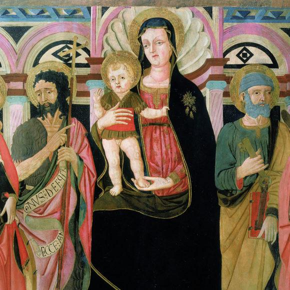 Madonna col Bambino in trono e Santi