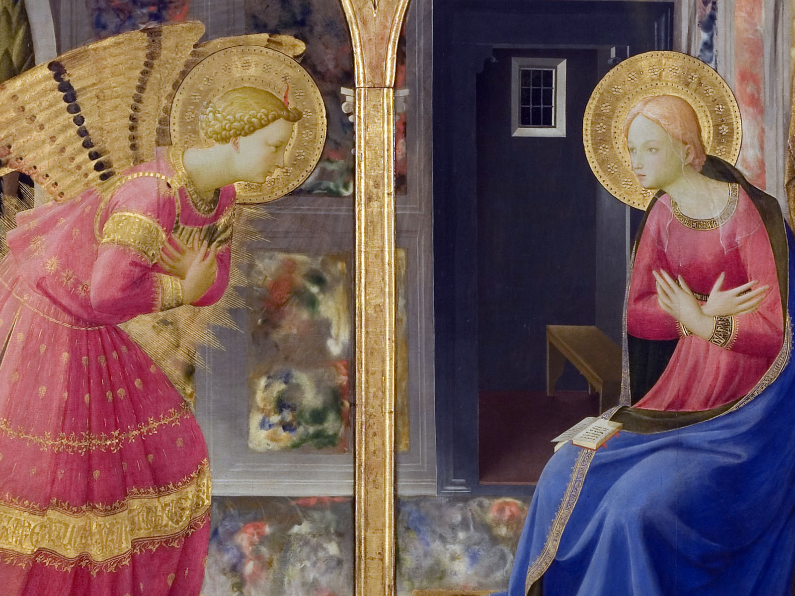 Annunciazione Beato Angelico  Approfondimento