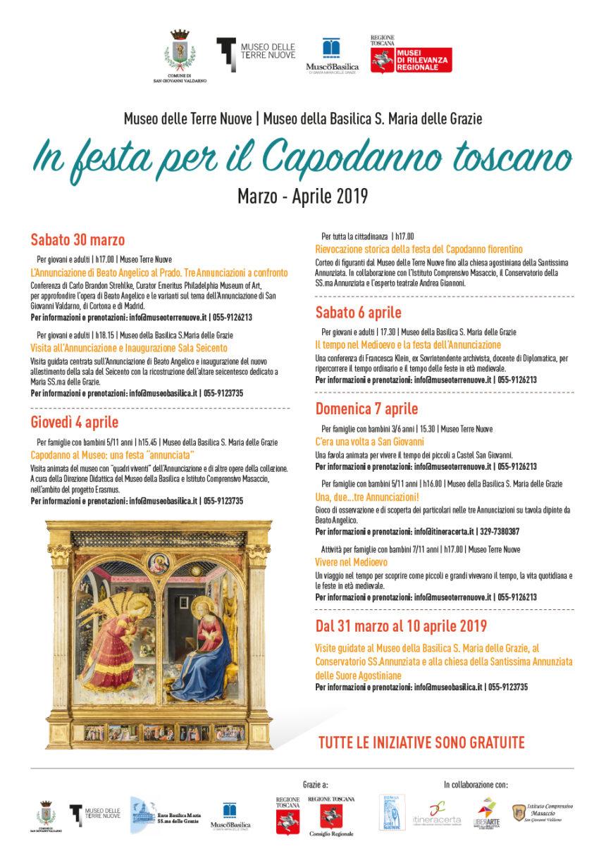 conferenza di F.Klein al Museo della Basilica promossa dal Museo delle Terre Nuove